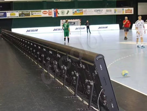 led boarding sporthal